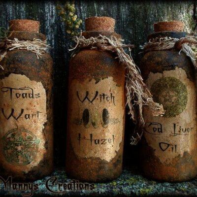 Магические масла с травами.